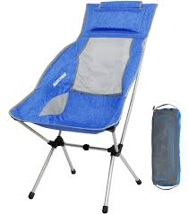 Galleon - Lightweight Folding High Back Camping Chair With Headrest ... Eureka Highback Recliner Camp Chair Djsboardshop Folding Camping Chairs Heavy Duty Luxury Padded High Back Director Kampa Xl Red For Sale Online Ebay Lweight Portable Low Eclipse Outdoor Llbean Mec Summit Relaxer With Green Carry Bag On Onbuy Top 10 Collection New Popular 2017 Headrest Sandy Beach From Camperite Leisure China El Indio