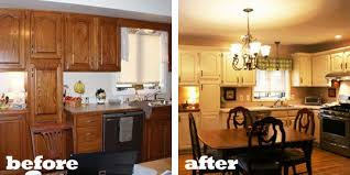 Easy Cheap Kitchen Makeovers On A Budget Before And After Home Decoration Ideas