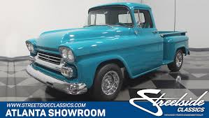 1959 Chevrolet Apache | Streetside Classics - The Nation's Trusted ... Video This Ls Swapped 59 Apache Is One Badass Restomod 1959 Chevrolet 2014 Truckin Thrdown Competitors Greening Auto Company Jeff Greenings Fileflickr Dvs1mn 31 Pickup 2jpg Retyrd Within Wheels For Chevy Truck Mecum Fl 2016 Apache Pickup Custom 60l Lq9 Hot Rod Network 3100 Pickup Trucks Pinterest Classic Gmc Trucks And What Makes Someone Want To Hold On A For 40