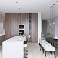 3 Light Interiors With Creative Pops Of Color Kitchen