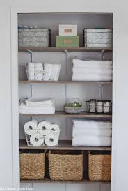 Bathroom Linen Closet Reveal – Our Home Made Easy Bathroom Kitchen Cabinets Fniture Sale Small 20 Amazing Closet Design Ideas Trendecora 40 Open Organization Inspira Spaces 22 Storage Wall Solutions And Shelves Cute Organize Home Decoration The Hidden Heights Height Organizer Shelf Depot Linen Organizers How To Completely Your Happy Housie To Towel Kscraftshack Bathroom Closet Organization Clean Easy Bluegrrygal Curtain Designs Hgtv Organized Anyone Can Have Kelley Nan