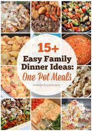 15 One Pot Meal Recipes