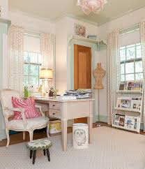 Simply Shabby Chic Curtains Pink by 30 Gorgeous Shabby Chic Home Offices And Craft Rooms
