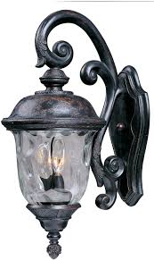 100 Cast Of Glass House Carriage DC 3Light Outdoor Wall Lantern Outdoor Maxim