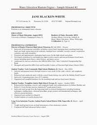 100 Education On A Resume Masters Degree Inspirational Example Masters Degree