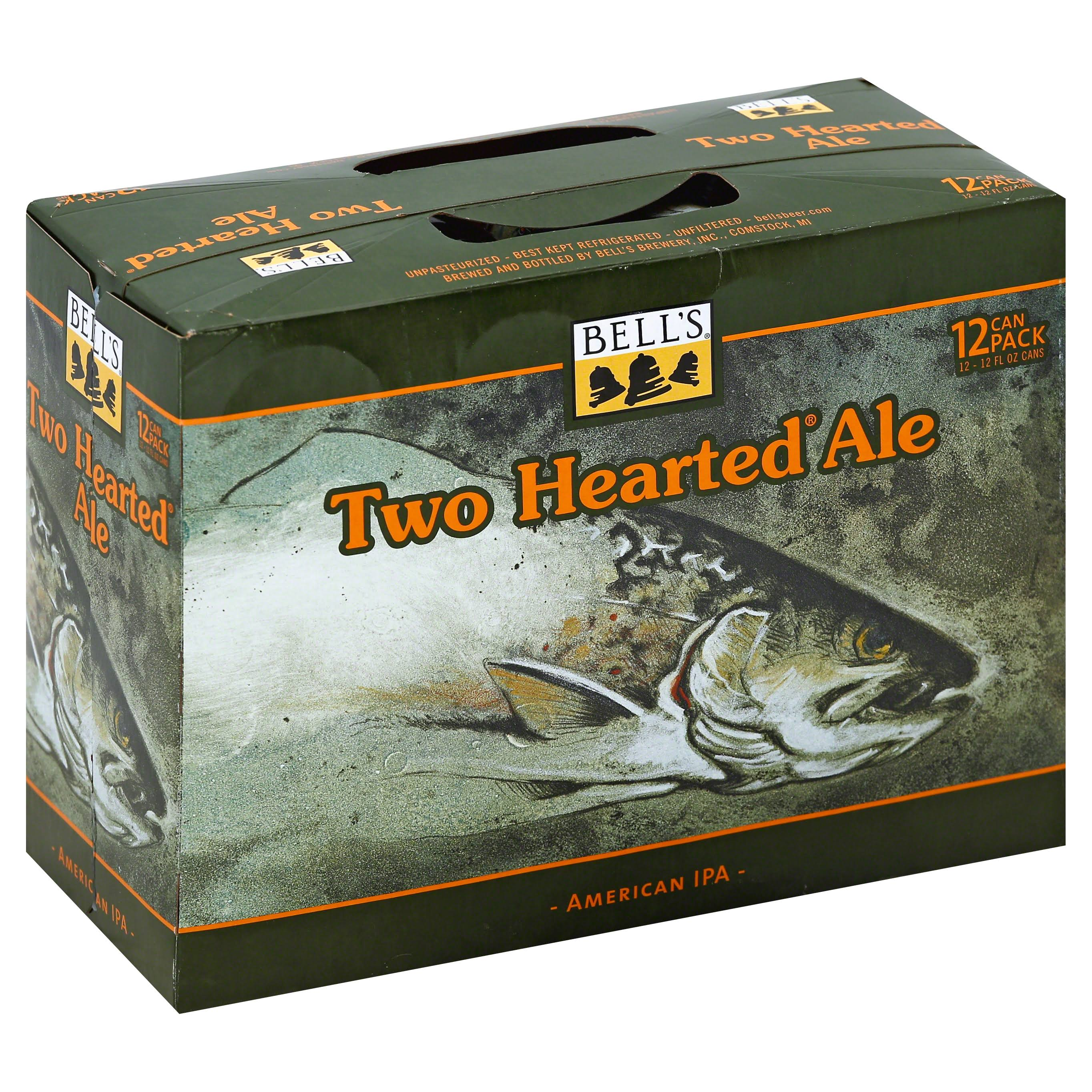 Bells Beer, American IPA, Two Hearted Ale, 12 Can Pack - 12 pack, 12 fl oz cans