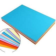 A4 Color Paper Premium Neon Colours Pack Of 100 Sheets 10 Colors X Each Colour For Art Craft Work