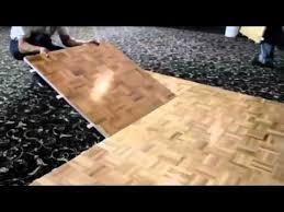 Rosco Dance Floor Australia installation of portable dance floors from portable floor makers