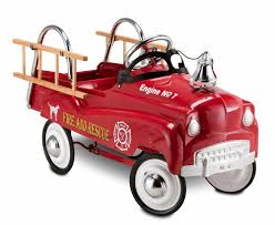 100 Fire Truck Ride On Pedal Car Vintage Kids Toy Children Gift Toddler