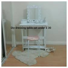 Diy Vanity Table With Lights by Charming Inexpensive Vanity Table With Wall Mounted Small Dressing