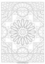 Islamic Design Colouring Page 2