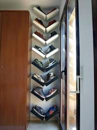 Built In Shoe Rack Best Vertical Ideas On Closet Ins