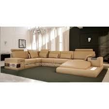 canapé sofa italien canapé d angle panoramique design en cuir italien achat vente