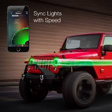 XKchrome IOS Android Smartphone App Bluetooth XKchrome RGB ... Oracle 0608 Ford F150 Led Halo Rings Head Fog Lights Bulbs Lighting 1314332 Smd Dynamic Colorshift Kit For 0814 Dodge Challenger Wpro Ccfl Headlights Installing On A 2004 Ram Pickup 8 Steps With Lumen Sb7250xxblk 7 Round Black Projector 0610 Charger Triple Color Bmw Upcoming Cars 20 2641052 Plasma Blue Lights Gone Crazy Headlights Wikipedia Jeep Wrangler Waterproof Headlight Cversion