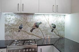 Patterned Glass Splashbacks For Cookers
