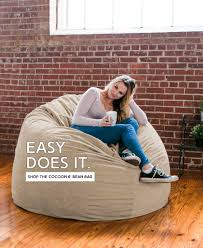 King Fuf Bean Bag Chair by American Made Beanbags And Furniture For Casual Living Jaxx Bean