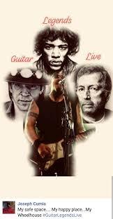 Stevie Ray Vaughan Eric Clapton Jimi HendrixJoseph Cumia He