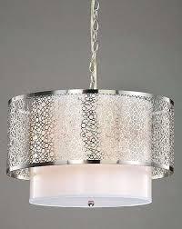 Brushed Nickel Dining Room Light Fixtures Chandelier