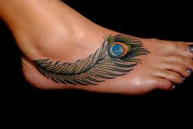 Foot Tattoo Design For Women