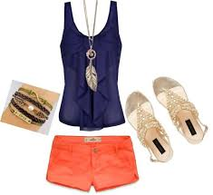 Cute Summer Outfit By Christina Ramos Liked On Polyvore