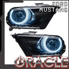 2010 2014 ford mustang pre assembled headlights non hid