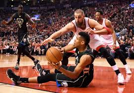 Antetokounmpo scores 28 points Bucks beat Raptors 97 83
