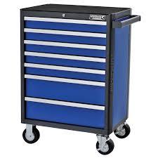 kincrome 26 blue 7 drawer evolve tool trolley bunnings warehouse