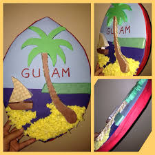 My Daughters 3D School Project Of A Guam Seal My Crafts