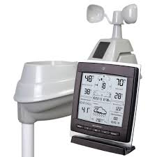 Decorative Outdoor Rain Gauges by Acurite Digital Weather Station 5 In 1 With Wind Speed And