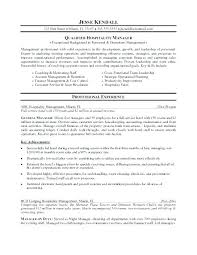 Resume Objective Examples For Hospitality Industry Word Manager Hotel Sales