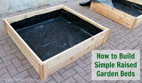 How to Build Raised Garden Bed Boxes Growing Ve ables in our
