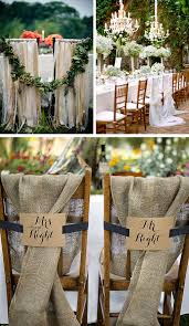Head Table Chair Back Wedding Decorations