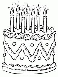 "Download free ""Birthday cake clipart black and white 7"" png photo images and pictures graphics for You"