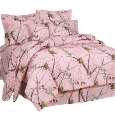 Pink Camouflage forter Sets Queen Size Realtree AP Pink