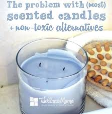 non paraffin candles the problem with most scented candles and non
