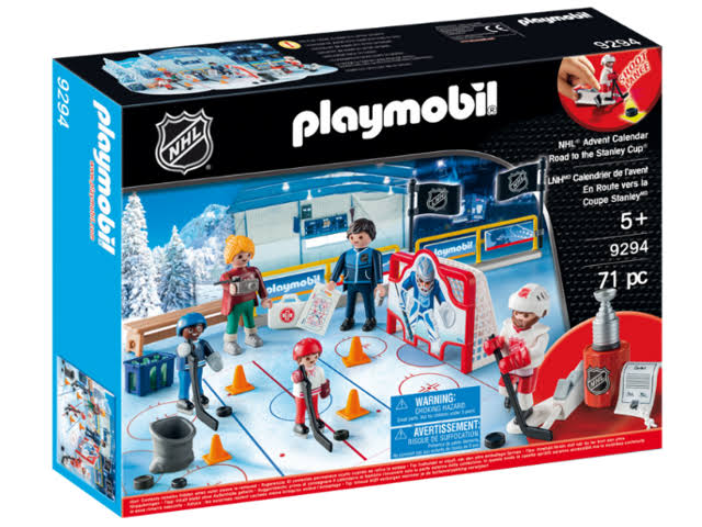 Playmobil 9294 NHL Advent Calendar Road to the Cup Set