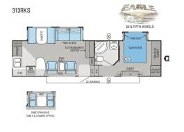 Jayco Fifth Wheel Floor Plans 2018 by 2012 Jayco Eagle 313rks Eagle Fifth Wheel Cincinnati Oh Colerain