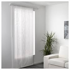yrla schiebegardine weiß weiß 60x300 cm ikea deutschland