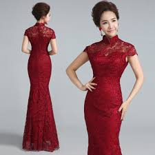 popular chinese qipao dresses red buy cheap chinese qipao dresses
