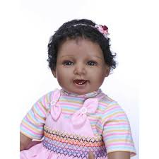 22 Realistic Reborn Biracial Baby Dolls Smile African American