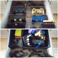 Desk Drawer Organizer Ikea by Video Game Console Storage Ikea Hemnes Tv Stand Interdesign