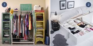 Organizing Clothes Closet Ideas Unique Clothing Organization For Small Spaces Curbly 8