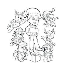 Paw Patrol Ryder Coloring Page D4496 Pages Printable And Book