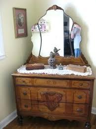 vanities art deco waterfall vanity with round mirror art deco