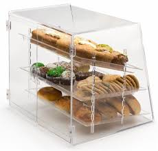 Amazon Pastry Display Case With 3 Removable Trays Rear Door