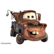 Disney Pixar Cars Tow Mater Ver 2 Papercraft