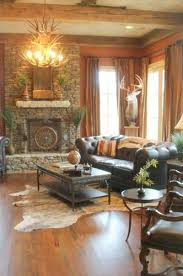 Beautiful Western Decor With An Interesting Deer Mount