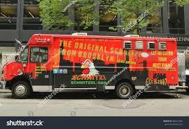 100 Schnitzel Truck Nyc NEW YORK JULY 9 2015 Stock Photo Edit Now 306451646