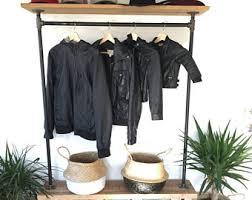 Decorative Clothes Rack Australia by Garment Rack Etsy