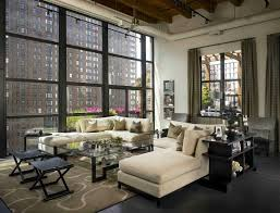 100 Sexy Living Rooms Sleek And Sexy Industrial Style Urban Loft Showcases Chicago Skyline